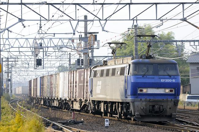 1055レ EF200-8号機