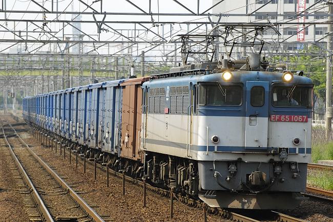 3460レ  EF65-1067