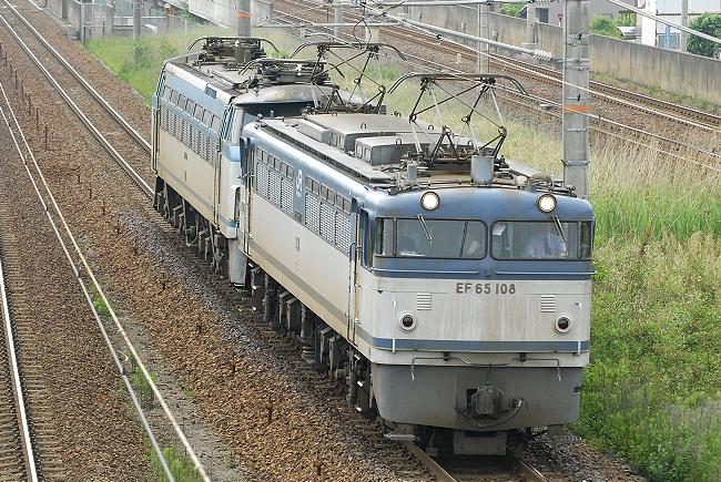 8865レ EF65-108+EF66-8(ムド)