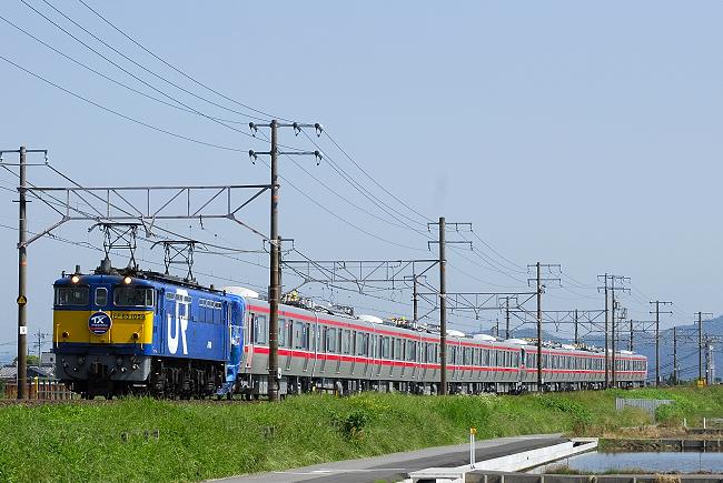 9864レ EF65-1059+TX2000系12両