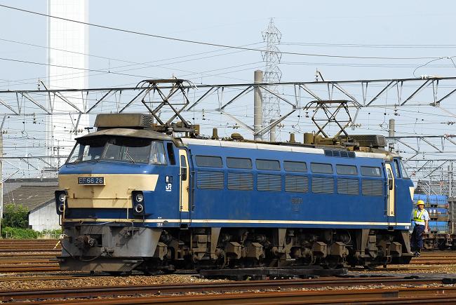 7月13日の1550レ運用機 EF66-26