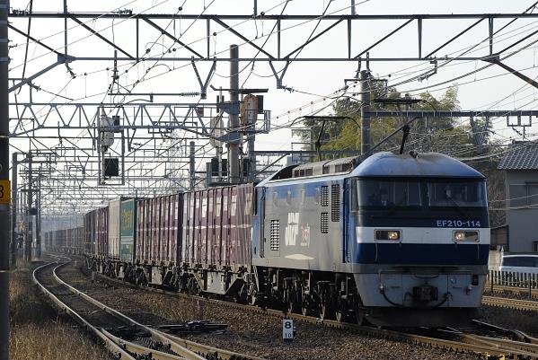 1057レ  EF210-114