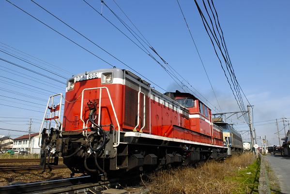 82レ  DD51-896+EF66-54号機