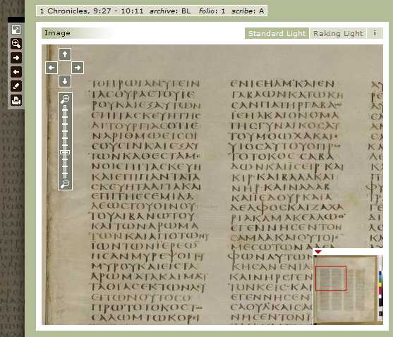 Codex Sinaiticus - See The Manuscript - 1 Chronicles -_1217134575673