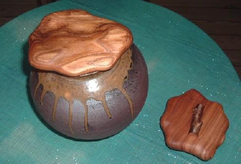 壷のふた。~②