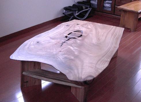 ローテーブル(座卓)~裏面です。