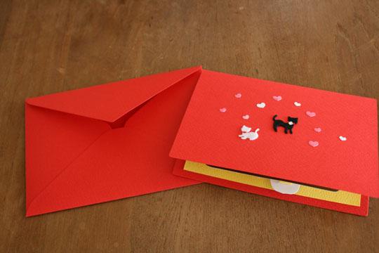 ミィちゃんからバレンタインカードが10