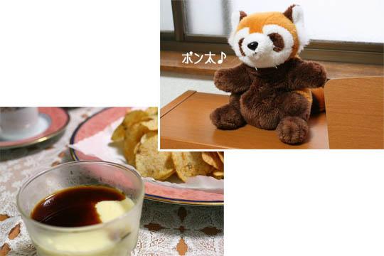 ポン太と一緒にお茶2