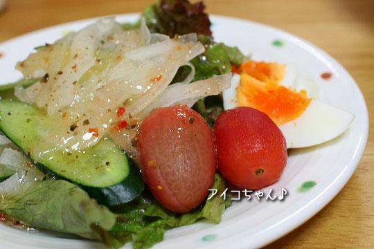 アイコちゃんサラダ3