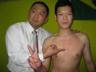 大谷社長と齋藤くん
