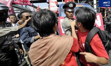 ジャカルタ抗議デモ