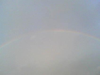 虹のアーチ