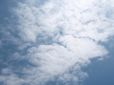 空いっぱいの雲