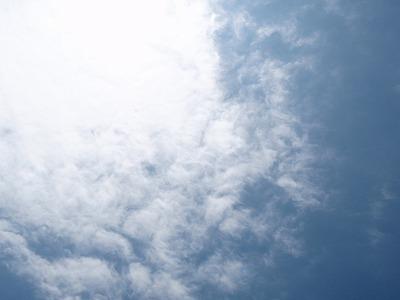 空いっぱいの雲2