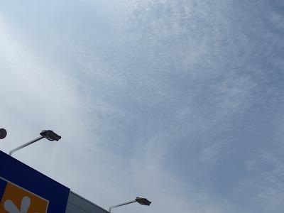 梅雨明けの空2