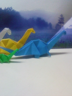 アパトサウルスの群れ