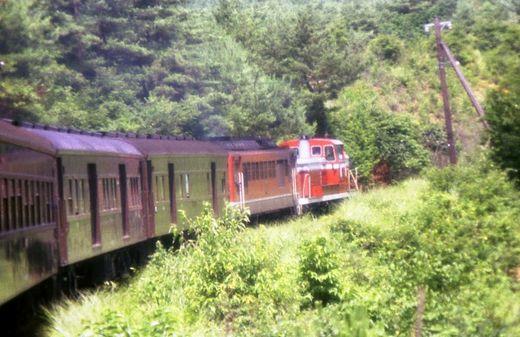 1976福知山線・別府鉄道648-1