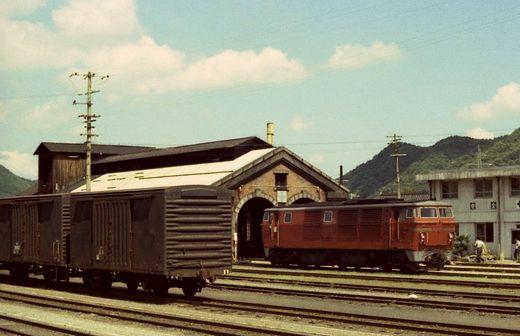 1976福知山線・別府鉄道649-1