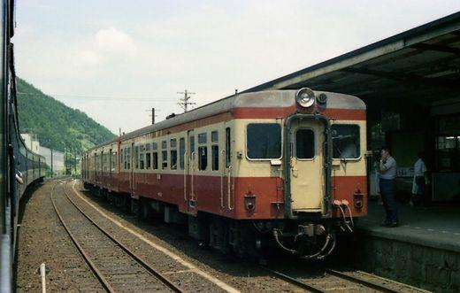 1976福知山線・別府鉄道655-1