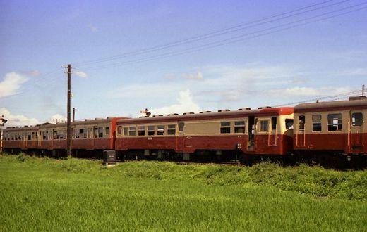 1976福知山線・別府鉄道657-1