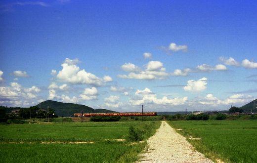 1976福知山線・別府鉄道658-1