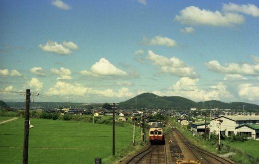 1976福知山線・別府鉄道660-1
