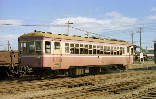 1976福知山線・別府鉄道662-1