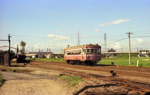 1976福知山線・別府鉄道663-1