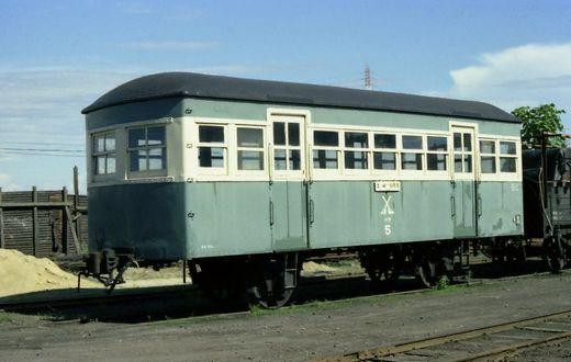 1976福知山線・別府鉄道666-1