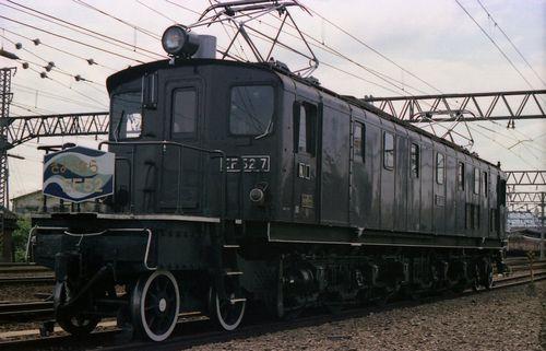 1975年8月24日さよならEF52385-1