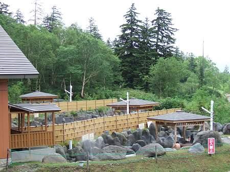 吹上温泉保養センター 白銀荘の露天風呂