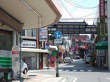 ロケ地(駅前のバス停)