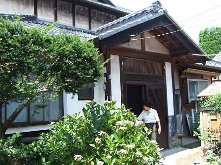 真知子先生の借家