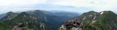 谷川連峰パノラマ