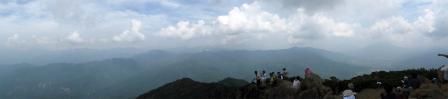 至仏山山頂からのパノラマ