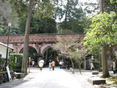 南禅寺の橋みたいなの