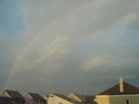 大きな虹(2008.06.24)