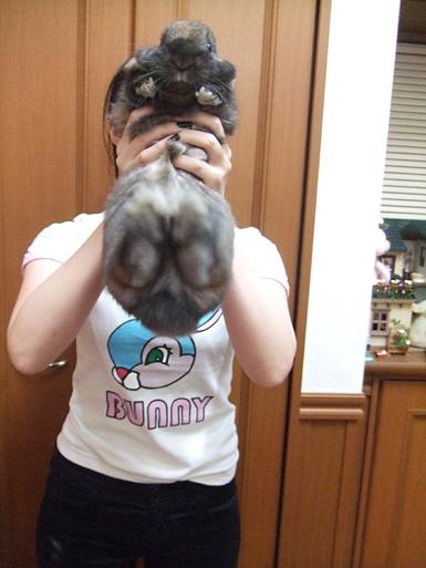 bunnyなTシャツ 俺のほうが・