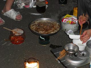 夕張の夕食