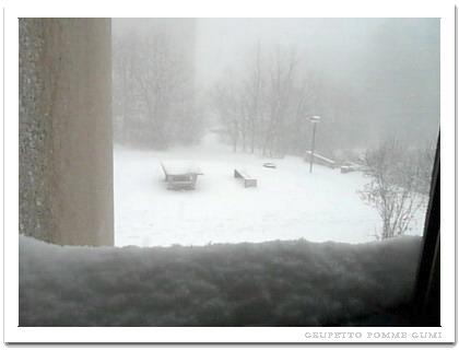 2008年3月21日の大雪