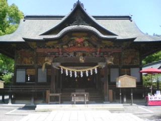 秩父神社社殿