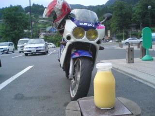 フルーツ牛乳とR