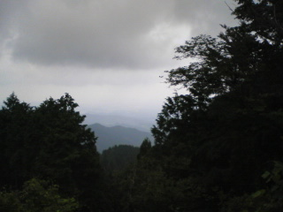 展望台より関東平野