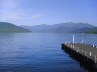 中禅寺湖岸