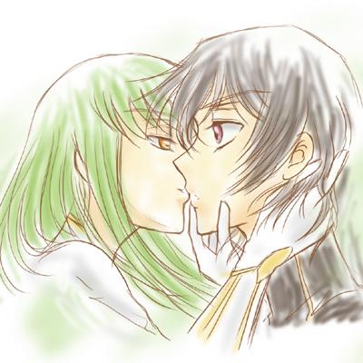 ルルーシュ×C.C. kiss