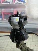 HGUC ザクI(黒い三連星仕様) 製作中!