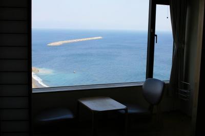 部屋からの眺め @桂浜荘