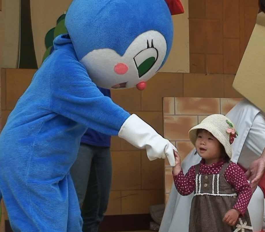 """コキンちゃんと握手"""""""