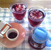 ローズ茶1