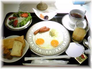 入院1日目朝食